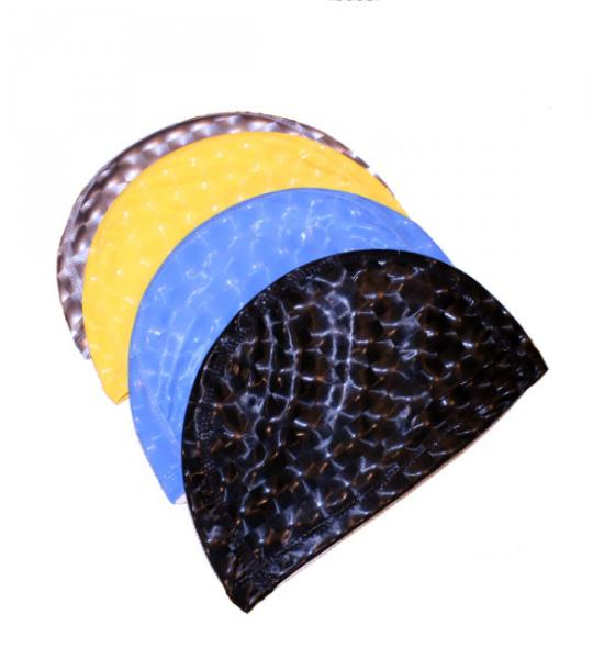 Шапки для плавания из комбинированной ткани
