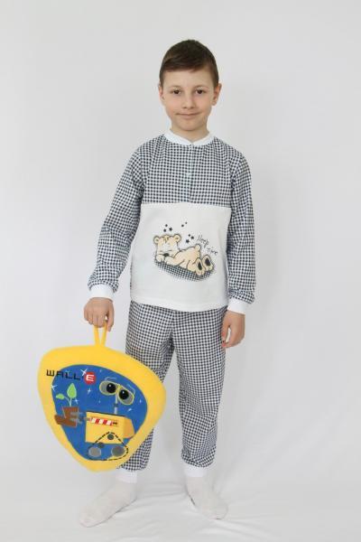 "ПЖ013 Пижама ""Сладкий сон"" мальчик футер"