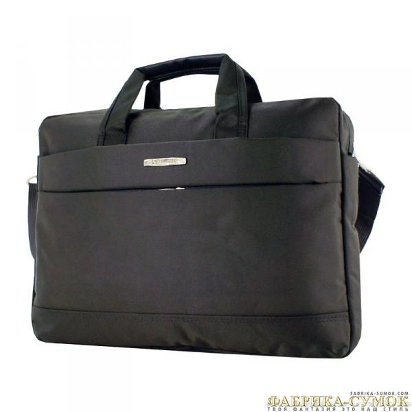 283-1304-gry Сумка Shaw grey текст 14 ноут_Y