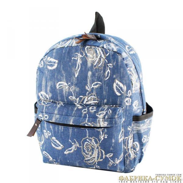 300-0342-blu Рюкзак Velvet blue текст молод_Y