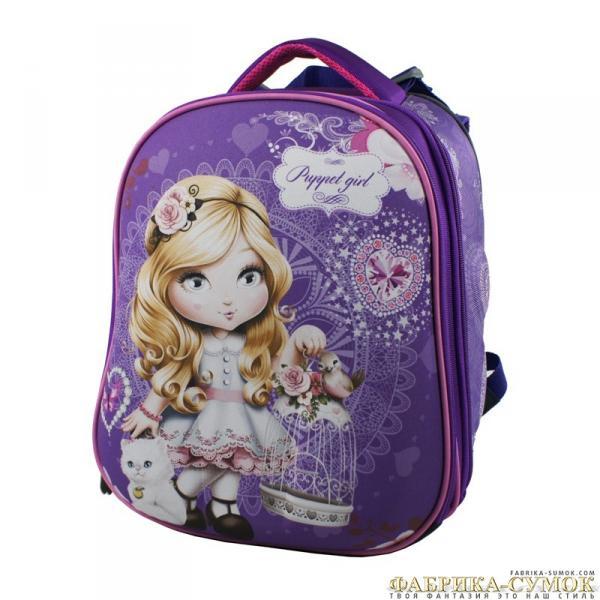 Ранец арт BagBerry - #17 Кукольная девочка