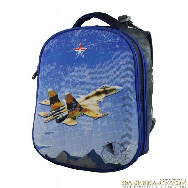 Ранец арт BagBerry - #20 Самолет СУ