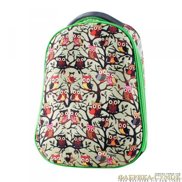 Ранец арт BagBerry - #223 Совята формованный рюкзак