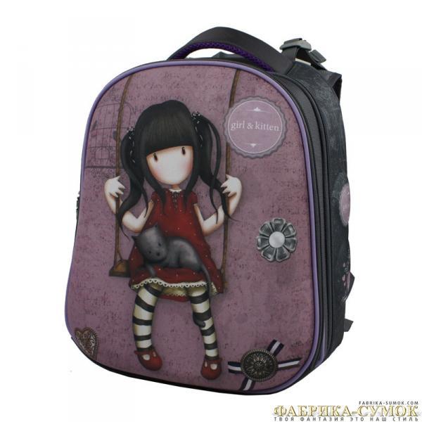 Ранец арт BagBerry - #25 Девочка на качелях