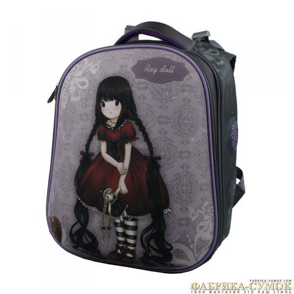 Ранец арт BagBerry - #30 Девочка с куклой