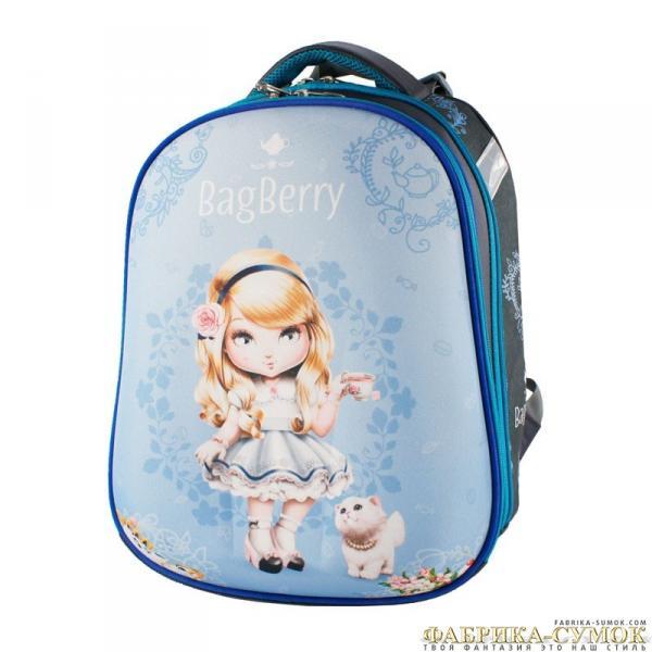 Ранец арт BagBerry - #60 Девочка с чашкой