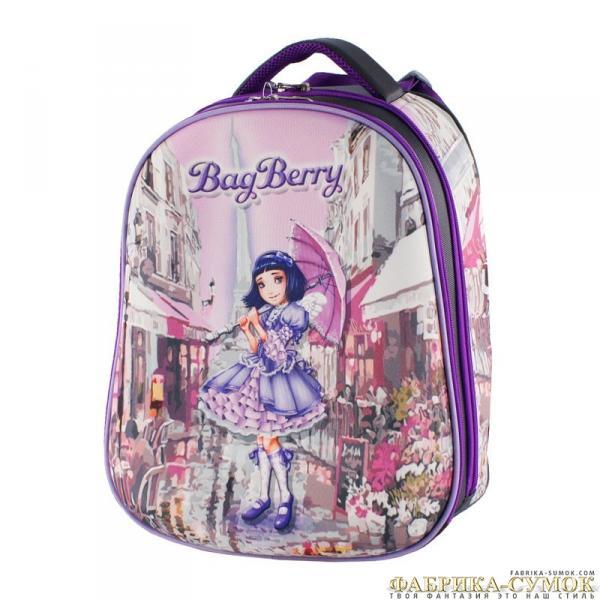 Ранец арт BagBerry - #63 Девочка с зонтом
