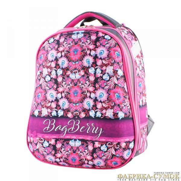 Ранец арт BagBerry - #№79 Цветы бантик