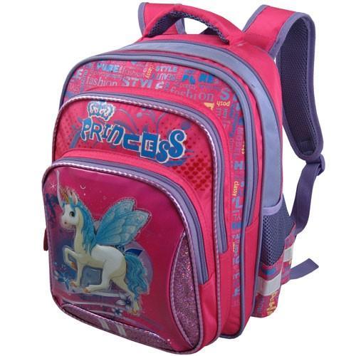 Рюкзак арт.Стелс-872 розовый, единорог