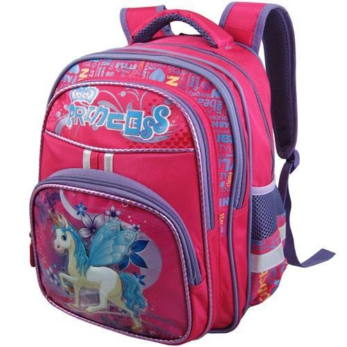 Рюкзак арт.Стелс-874 розовый, единорог
