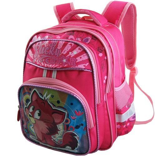Рюкзак арт.Стелс-874 розовый, кот