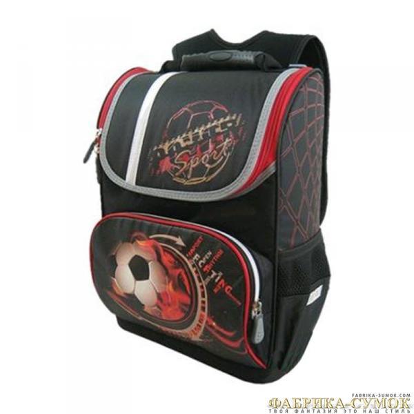 Рюкзак арт.Стелс-884 М-19 Мяч, черно/красный