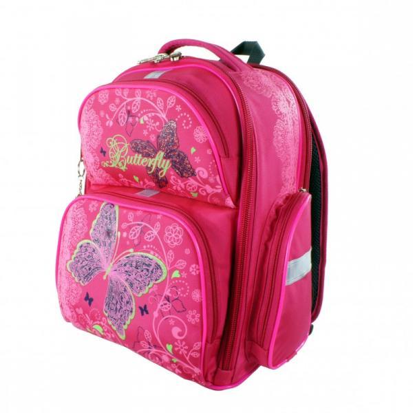 Рюкзак арт.Bagberry-660 розовый Бабочка