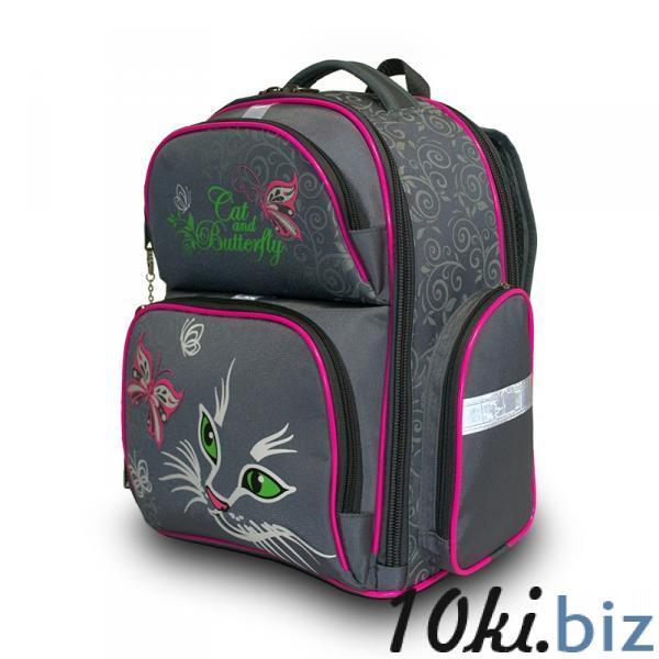 Рюкзак арт.Bagberry-660 серый М.Кошки Школьные рюкзаки и портфели в Москве