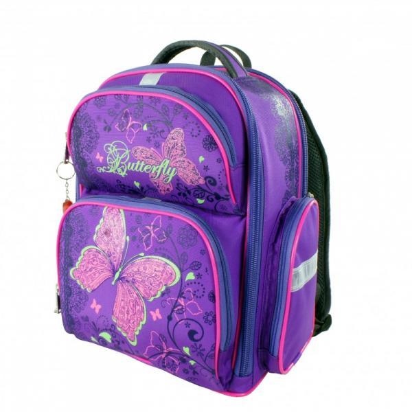 Рюкзак арт.Bagberry-660 фиолетовый Бабочка