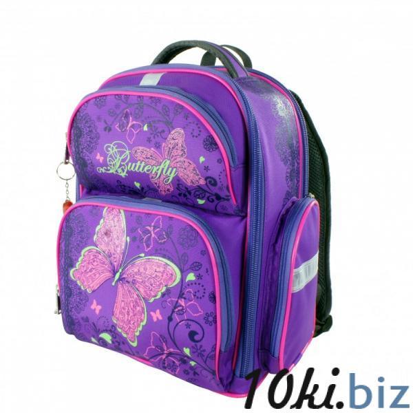 Рюкзак арт.Bagberry-660 фиолетовый Бабочка Школьные рюкзаки и портфели в России