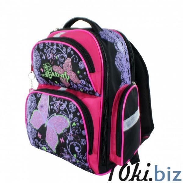 Рюкзак арт.Bagberry-660 черный Бабочка Школьные рюкзаки и портфели в Москве