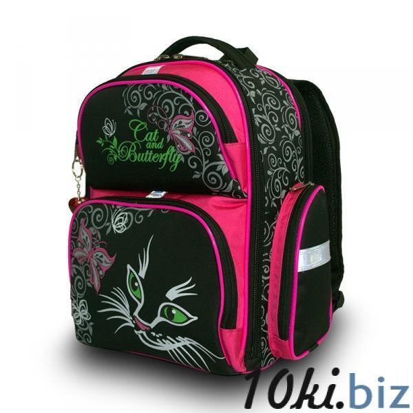 Рюкзак арт.Bagberry-660 черный М.Кошки Школьные рюкзаки и портфели в России