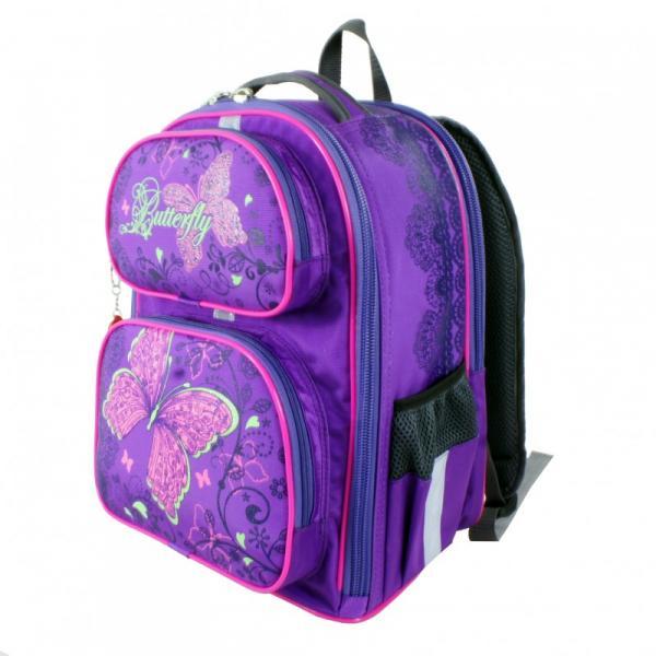 Рюкзак арт.Bagberry-838 фиолетовый Бабочка