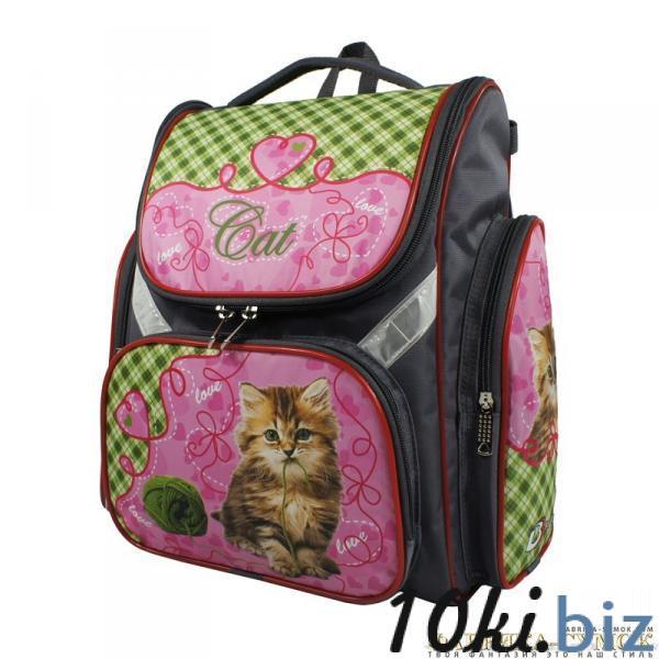 Рюкзак арт.Bagberry-902 кот с клубком Школьные рюкзаки и портфели в Москве