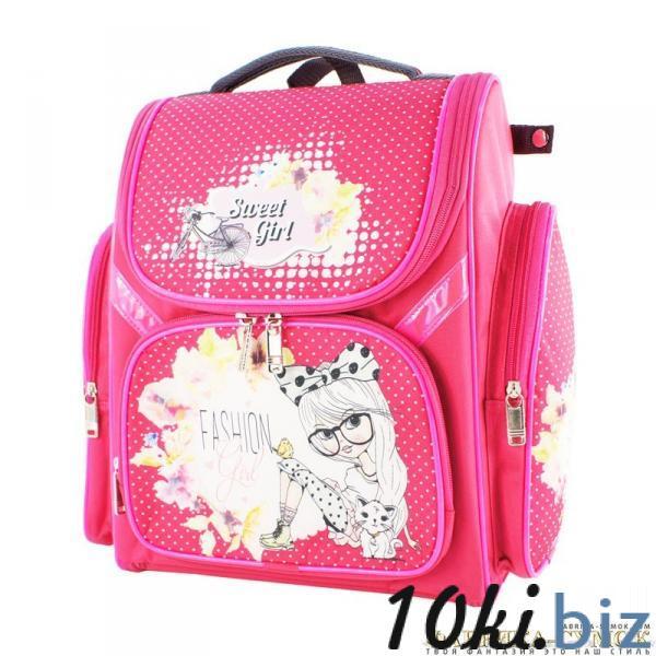 Рюкзак арт.Bagberry-902 №20 Девочка с цветами (цв. розовый) Школьные рюкзаки и портфели в Москве