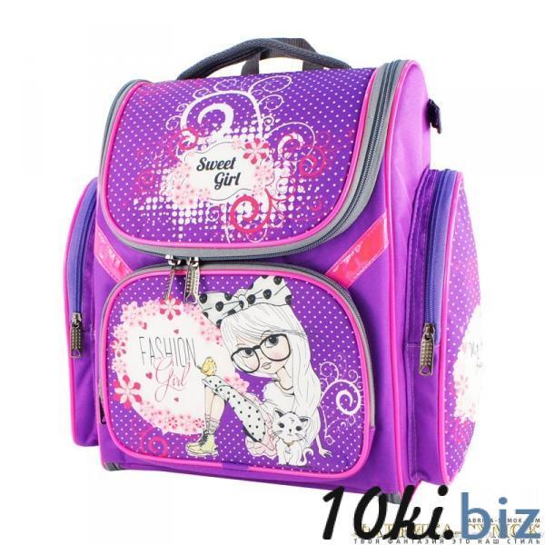 Рюкзак арт.Bagberry-902 №20 Девочка с цветами (цв. фиолетовый) Школьные рюкзаки и портфели в Москве