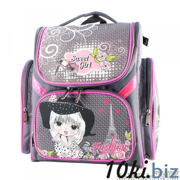 Рюкзак арт.Bagberry-902 №21 Париж (цв. серый) Школьные рюкзаки и портфели в России