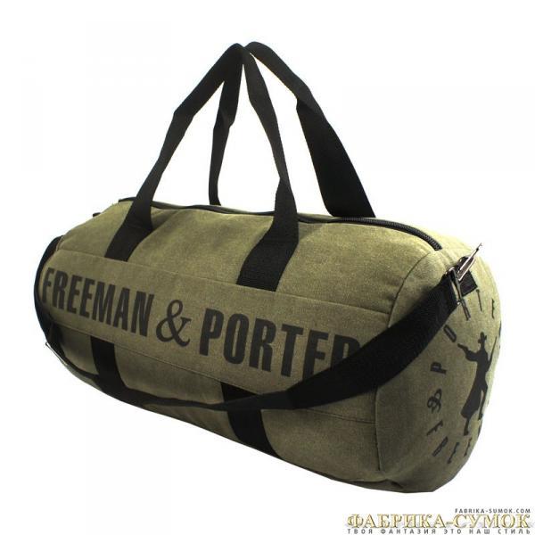 Спортивная сумка арт.Каплайн-99(брезент)