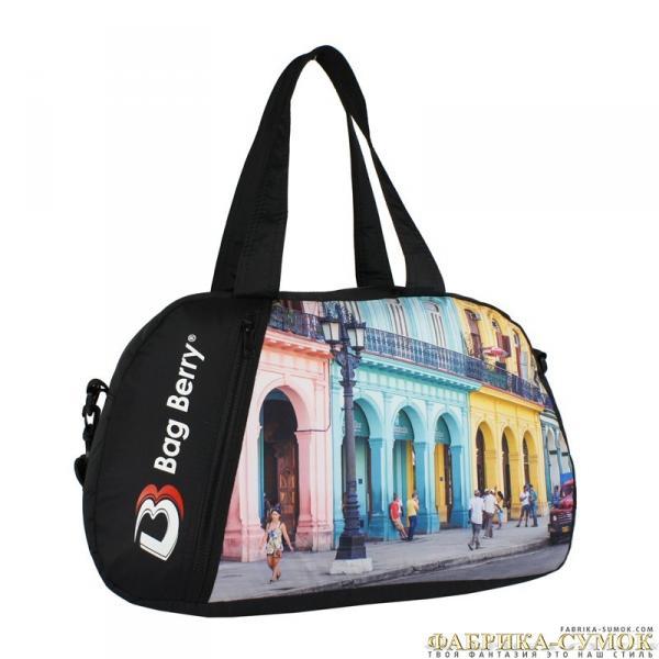 Спортивная сумка Bag Berry-NG-01 00-322 Куба город