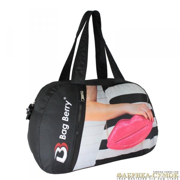 Спортивная сумка Bag Berry-NG-01 01-322 Сумочка губы