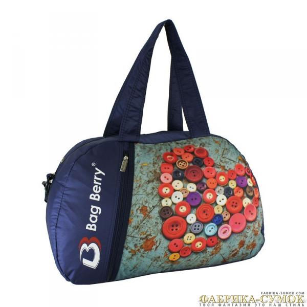 Спортивная сумка Bag Berry-NG-01 02-330 Пуговицы