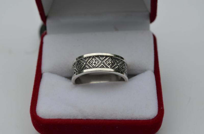 Кольцо Перунов цвет (серебро 925)