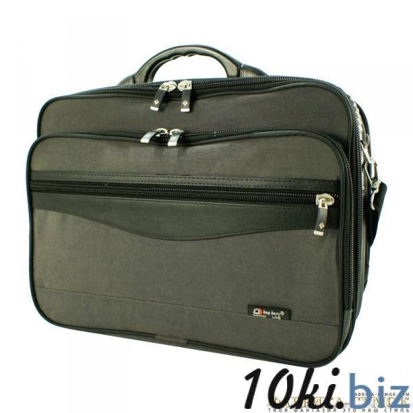 BagBerry - арт.077-108/Т-(Ткань Stone-Wash)- Кейс каркасный Мужские сумки и барсетки в России