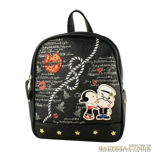 R6151-22 (308) Рюкзак черный