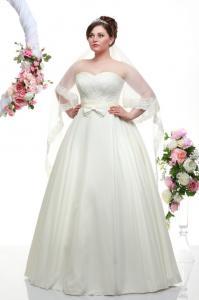 Фото Свадебные платья Николь (съемная маечка)