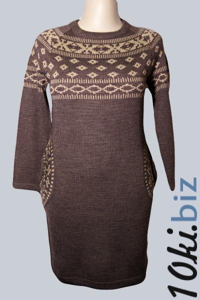 Платье W1370 Платья с рукавами, теплые платья в Москве