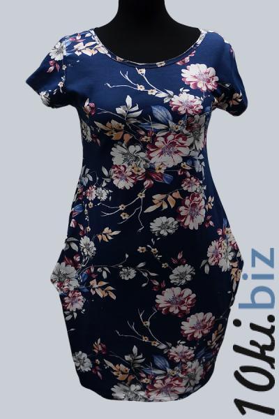Модель 6711 - Модное платье с цветочным принтом Платья-рубашки в Москве