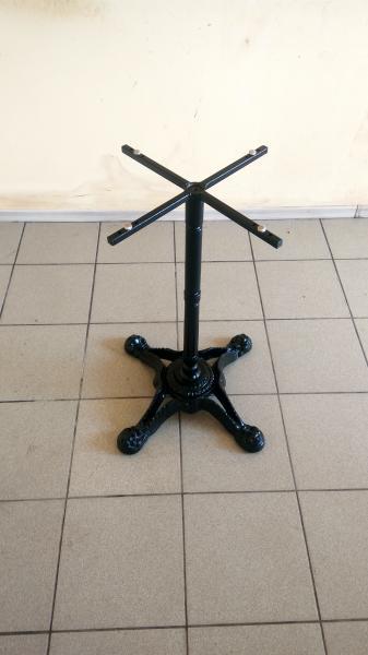 Опора для стола из чугуна Сен-Тропе. Ножка для стола, база, основа для стола, подстолье