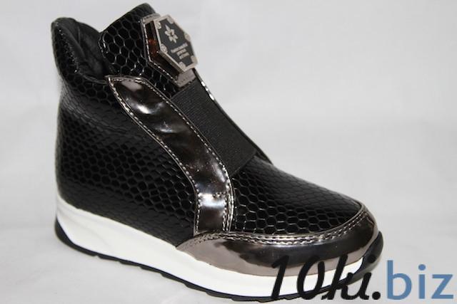 Ботинки 09-99 черный Демисезонная детская и подростковая обувь в России