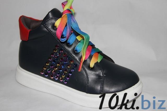 Ботинки 1126621-А синий Демисезонная детская и подростковая обувь в России