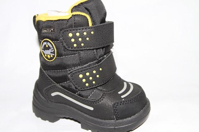 Ботинки 8-42 черный/желтый