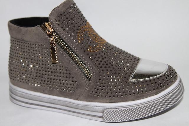 Ботинки 882А-3 серый