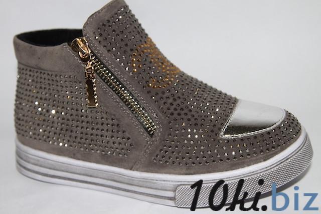 Ботинки 882А-3 серый Демисезонная детская и подростковая обувь в России