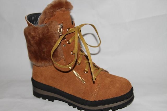 Ботинки L123-F1088 коричневый