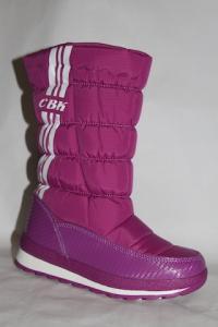 Фото Зимняя обувь, Дутики, Большие размеры Дутики 14183-3А фиолетовый