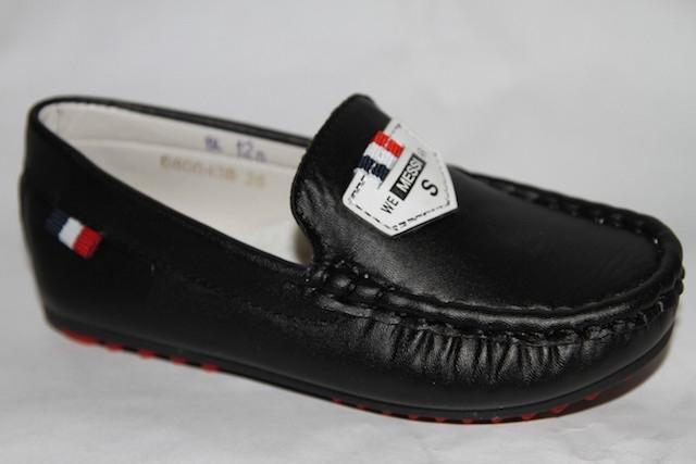 Мокасины D80043В черный