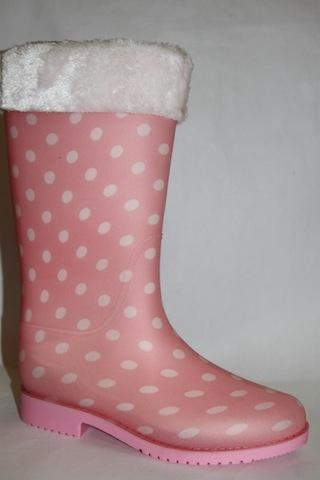 Сапоги  H-02 pink