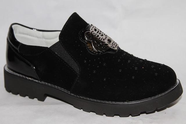 Туфли L003D-F1388-1черный
