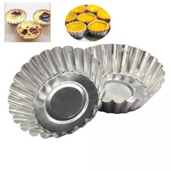 Фото Формы для тортов и выпечки металлические, Кексницы Кексы порционные