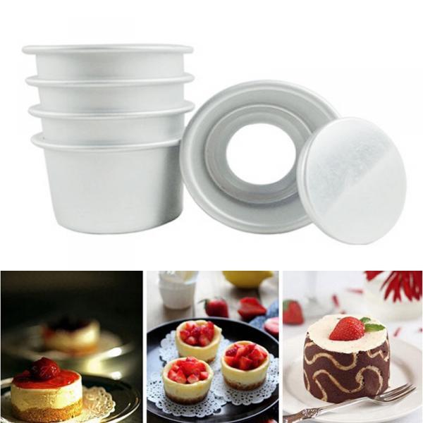 Фото Формы для тортов и выпечки металлические, Разъемные формы для выпечки Форма для выпечки со съемным дном 14 см 5 см